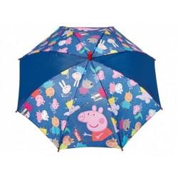 PERLETTI® Automatický dáždnik PEPPA PIG Blue