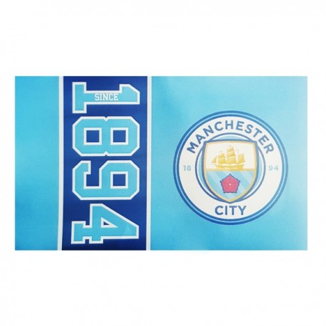 Klubová vlajka 152/91cm MANCHESTER CITY Since FOREVER COLLECTIBLES MNC1912