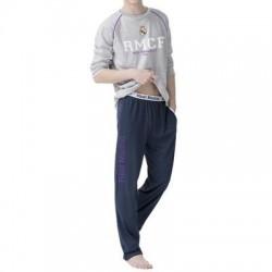 Bavlnené pyžamo / domáci úbor REAL MADRID Grey (RM03119KID)