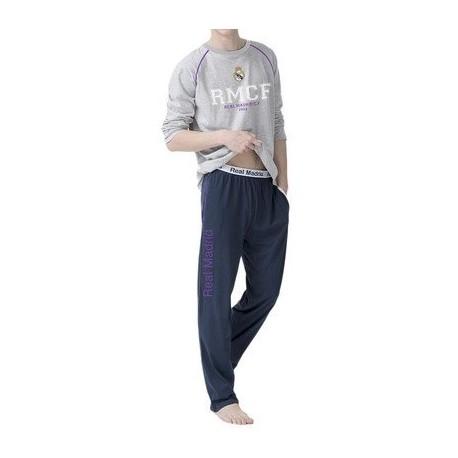 Bavlnené pyžamo / domáci úbor REAL MADRID Grey (RM03119KID) - 6 rokov (116cm)