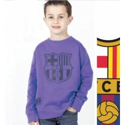 Chlapčenská bavlnená mikina FC BARCELONA Violet (BC06532)