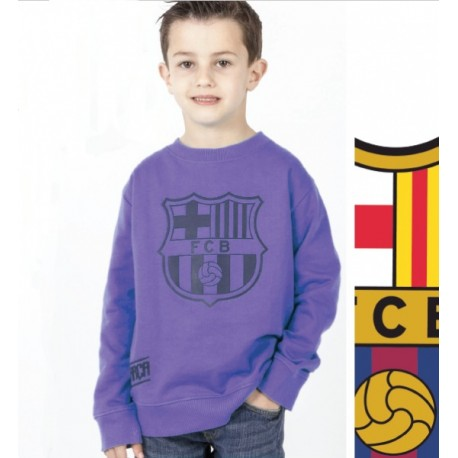 Chlapčenská bavlnená mikina FC BARCELONA Violet (BC06532) - 4 roky (104cm)