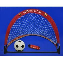 Mini futbal set / skladacie bránky FC BARCELONA