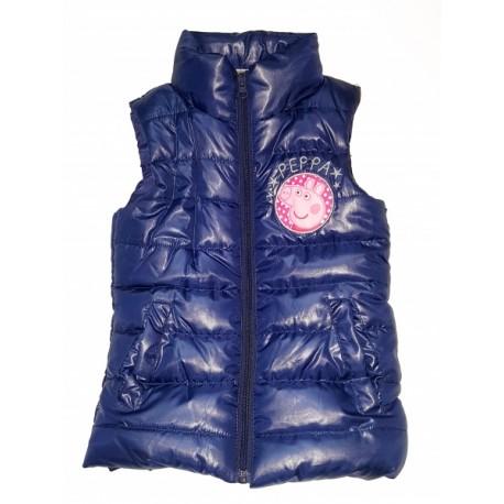 Dievčenská zateplená vesta PEPPA PIG fialová (EN6210) - 3 roky (98cm)
