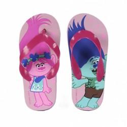 Flip Flop detské žabky Trolls ružové, 2300002363