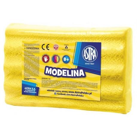 ASTRA Modelovacia hmota do rúry MODELINA 1kg Žltá, 304111011 ASTRA AST2989C