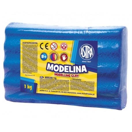 ASTRA Modelovacia hmota do rúry MODELINA 1kg Modrá, 304111010 ASTRA AST2989E