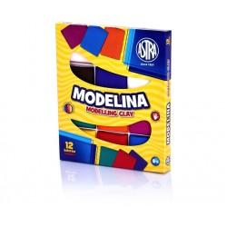 ASTRA Modelovacia hmota do rúry MODELINA 12ks, 304110001