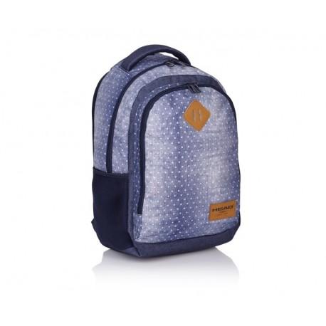 Študentský / školský batoh HEAD Denim, HD-07 HEAD AST0994