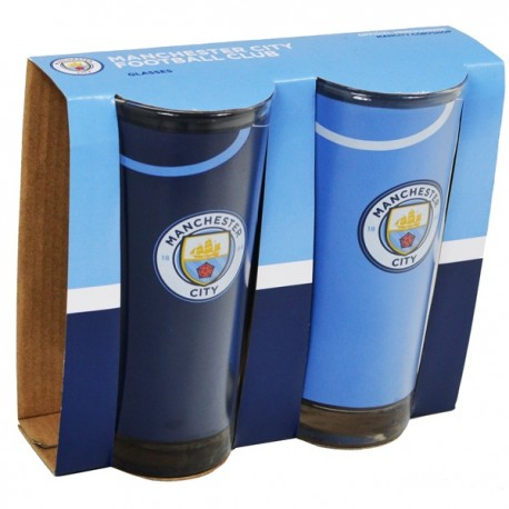 Pohár na vodu 2ks MANCHESTER CITY High FOREVER COLLECTIBLES MNC1865