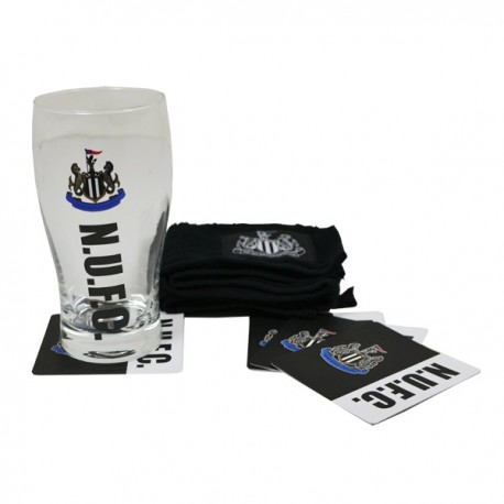 Sklenený pohár / minibar set NEWCASTLE FOREVER COLLECTIBLES NEW1989