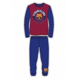 Chlapčenské bavlnené pyžamo FC BARCELONA Club