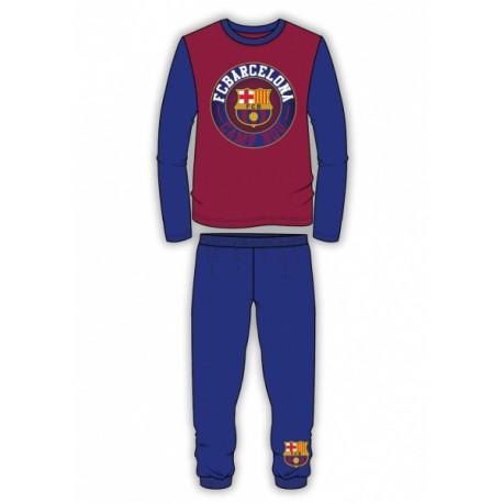 Chlapčenské bavlnené pyžamo FC BARCELONA Club,    TDP Textiles BRC1329x|5