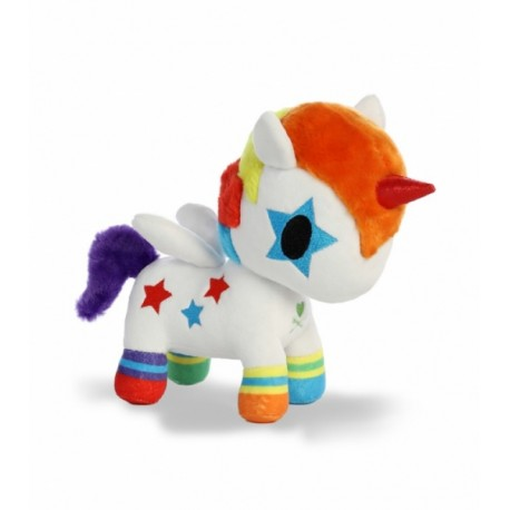 TOKIDOKI Plyšová hračka 25cm UNICORN Rainbow