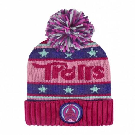Detská zimná čiapka TROLLS Poppy Premium, 2200002484 CERDÁ TRO0871