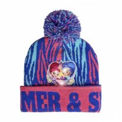 Detská zimná svetielkujúca čiapka SHIMMER & SHINE (6332)