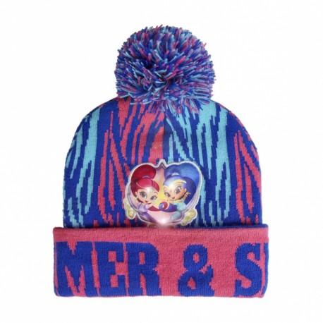 Detská zimná svetielkujúca čiapka SHIMMER & SHINE, 2200002569 CERDÁ SHI0998