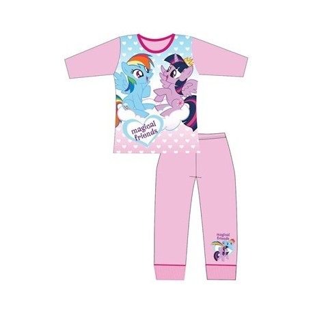Dievčenské bavlnené pyžamo MY LITTLE PONY Magical Friends,    TDP Textiles PON0945 5