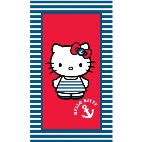 CTI Bavlnená osuška 70/120cm HELLO KITTY Ile de Re CTI France HKI03412