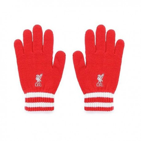Úpletové rukavice FC LIVERPOOL Red FOREVER COLLECTIBLES LIV1725