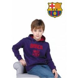 Chlapčenská bavlnená mikina FC BARCELONA (BC06524)