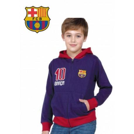 Chlapčenská bavlnená mikina na zips FC BARCELONA (BC06540),    MADNESS BRC1385x|4