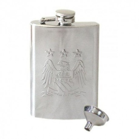 Nerezová ploskačka MANCHESTER CITY 120ml FOREVER COLLECTIBLES MNC1805
