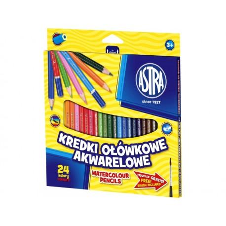 ASTRA Akvarelové farbičky 24ks + štetec, 312110005 ASTRA AST2098