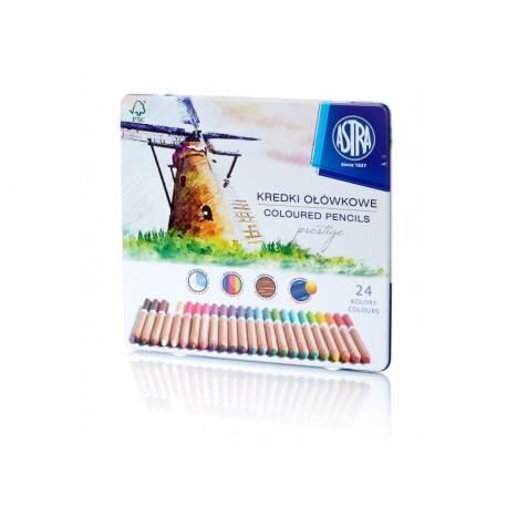 ASTRA Umelecké farbičky PRESTIGE z cédrového dreva 24ks, 312117002 ASTRA AST2100