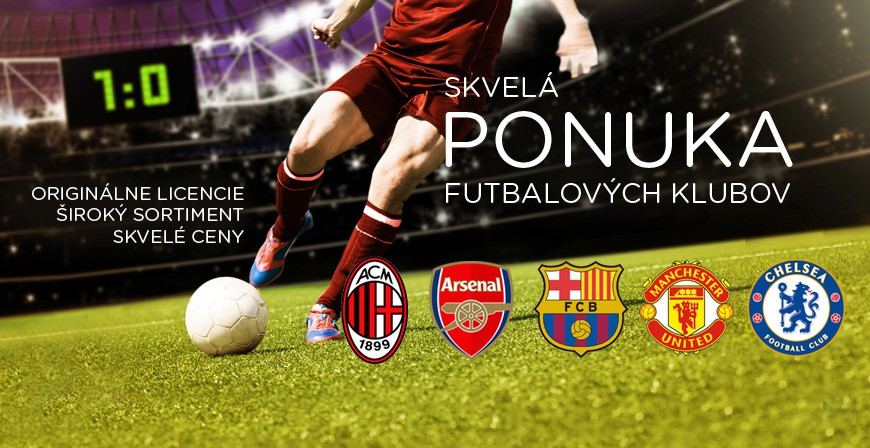 Ponuka futbalových klubov